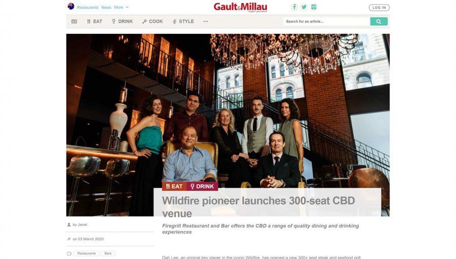 Wildfire pioneer launches 300-seat CBD venue